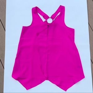 The Limited Hot Pink Sleeveless Top